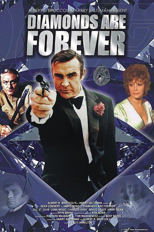El Agente 007 : Los Diamantes Son Eternos