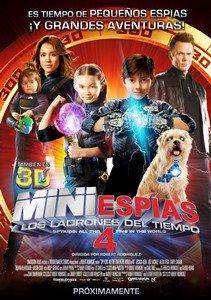 Mini Espias 4 Y Los Ladrones Del Tiempo