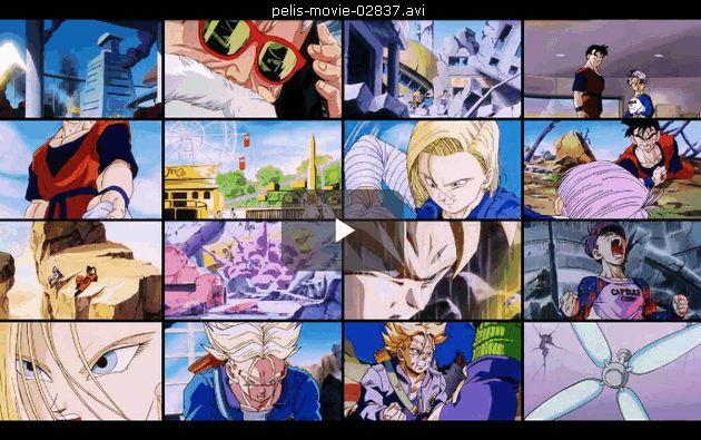 Dragon Ball Z Los Dos Guerreros Del Futuro, Gohan Y Trunks